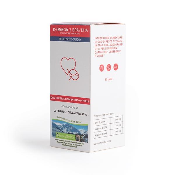K-OMEGA 3 EPA/DHA 60 perle