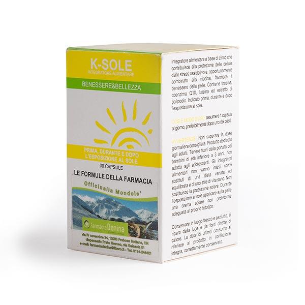 K-SOLE acceleratore dell'abbronzatura 30 CAPSULE