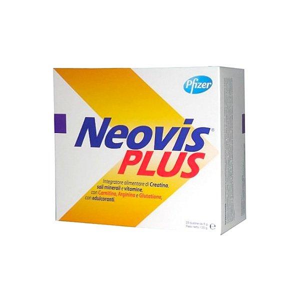 Neovis Plus integratore con creatina, vitamine e sali minerali 20 bustine