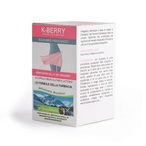 K-BERRY rimedio naturale per la cistite 30 capsule