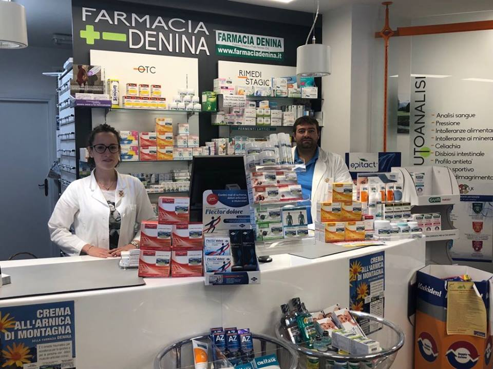 Farmacia Denina, Laura e Jacopo