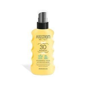 Angstrom Solare Hydraxol Latte Spray Kids SPF30 175ml 600x600