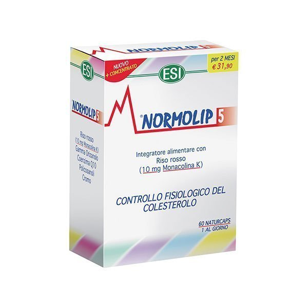 Normolip 5 60 Capsule OFS