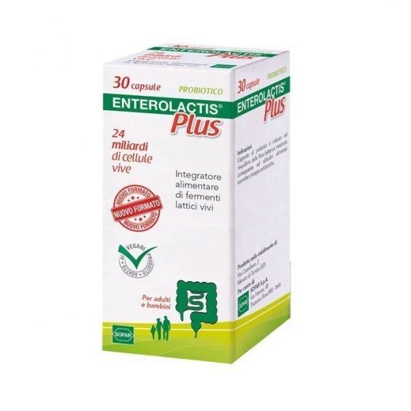 Enterolactis Plus Integratore Fermenti 30 Capsule
