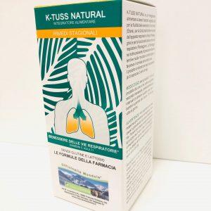 K-TUSS NATURAL sciroppo per la tosse naturale 200ml