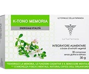 K-Tono Memoria, integratore alimentare. Visual prodotto 400x248