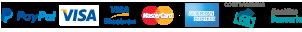 Strip con icone dei singoli pagamenti possibili
