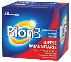 Bion 3 Difese Immunitarie Con Vitamina D -Zinco